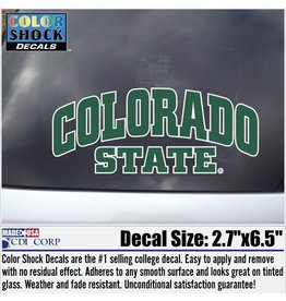ARCHED COLORADO STATE DECAL