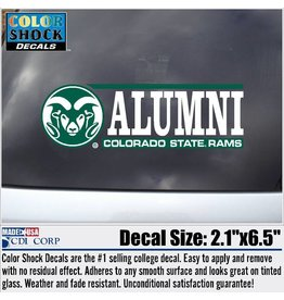 BAR DECAL- ALUMNI