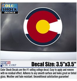 CDI CORP State of Colorado Decal