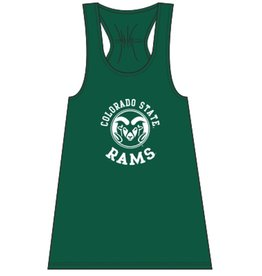 BOXER CRAFT X COLO ST RAMS LADIES FLARE TANK