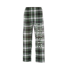 BOXER CRAFT YTH COLO STATE FLANNEL PANT