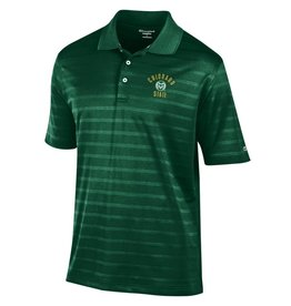 CHAMPION CUSTOM PRODUCTS COLO STATE TEXTURED STRIPE POLO