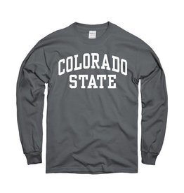 MOUNTAIN STATES Charcoal Arch LS Tee