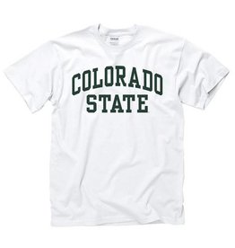 WHITE COLO ST ARCH TEE