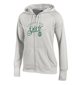 LADIES COLO STATE FULL ZIP HOODY