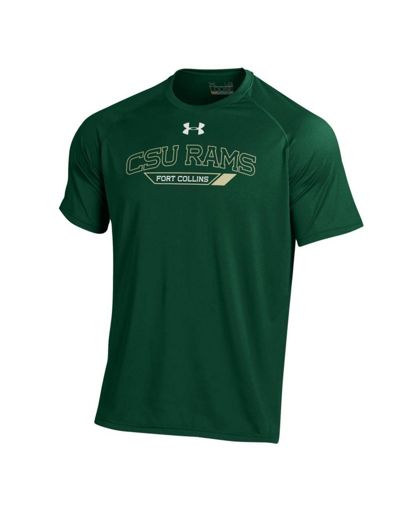 UNDER ARMOUR X UA CSU RAMS FOCO TECH TEE