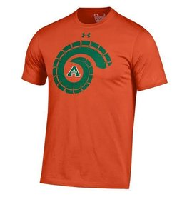 UNDER ARMOUR UA RAMS HORN ORANGE OUT A TEE