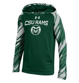 UNDER ARMOUR x YTH UA TECH CSU HOODY