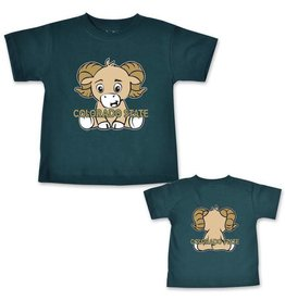 COLLEGE KIDS LITTLE RAM COLO ST INF/TOD TEE