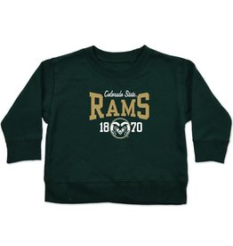 COLLEGE KIDS INFANT RAMS CREW SWEATSHIRT
