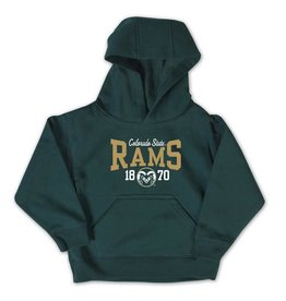 COLLEGE KIDS TODDLER RAMS HOODY