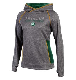 CHAMPION CUSTOM PRODUCTS LADIES CSU RAMS UNLIMITED FLC HOODY