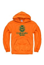 ORANGE RAM LOGO HOODY