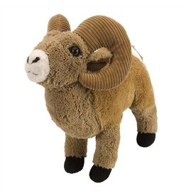 STUFFED BIG HORN RAM 12""