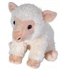 STUFFED WHITE BABY SHEEP 12""