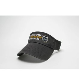 LEGACY ATHLETIC APPAREL COLO ST RAMS VISOR