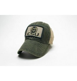 LEGACY ATHLETIC APPAREL CSU PATCH TRUCKER HAT