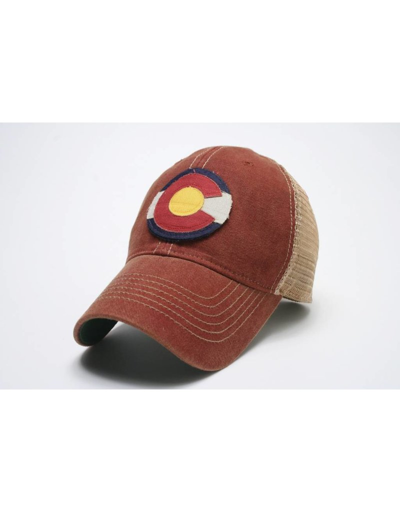 STATE OF COLORADO FLAG HAT