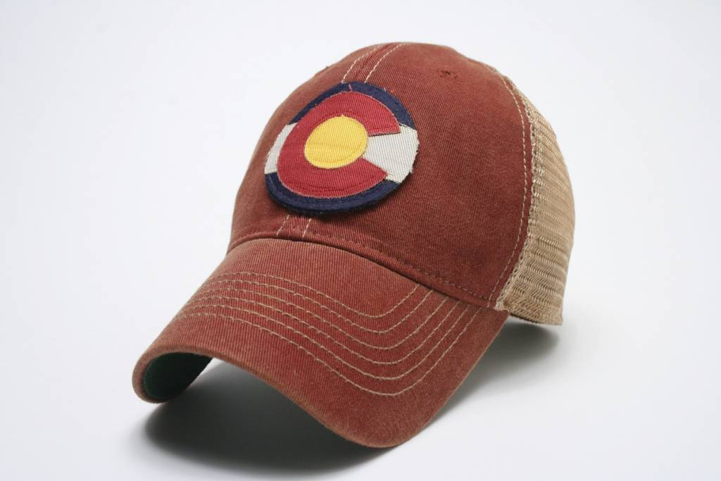 LEGACY ATHLETIC APPAREL STATE OF COLORADO FLAG HAT