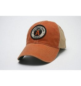 LEGACY ATHLETIC APPAREL AGGIE OVAL A ORANGE HAT