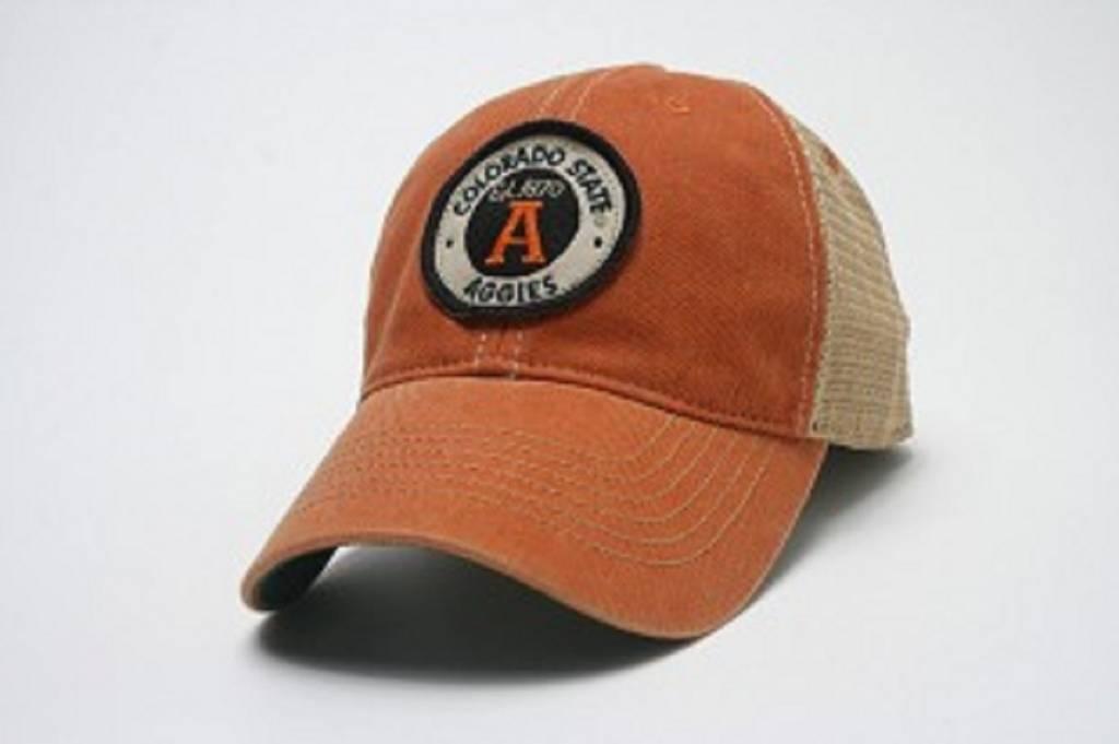 LEGACY ATHLETIC APPAREL AGGIE OVAL A ORANGE HAT