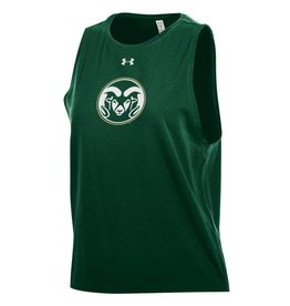 UNDER ARMOUR X LADIES UA RAM LOGO DIP DYE TANK