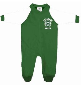 COLORADO STATE INFANT FOOTED SLEEPER