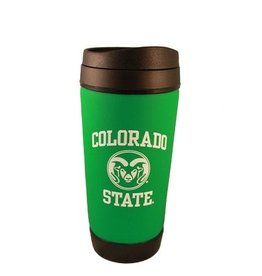 CO ST RAM GREEN KOOZIE TUMBLER