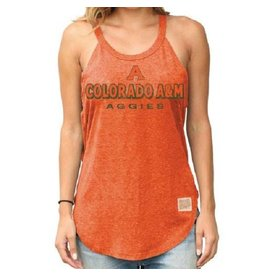 X LADIES RETRO COLORADO A&M AGGIES TANK