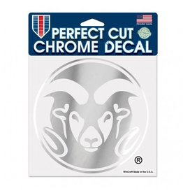 CHROME 6X6 RAM LOGO DECAL