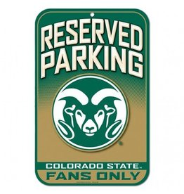 COLORADO STATE FANS ONLY SIGN