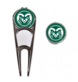 Colorado State Golf Mark/Tool/Head Clip Combo