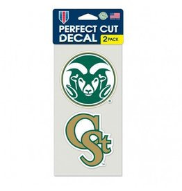 Ram Logo/C St Decal Die Cut 2 pack