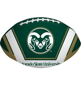 "COLO ST RAMS 8"" SOFTEE FOOTBALL"