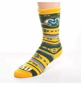 FOR BARE FEET CSU RAM BLANKET SOCK