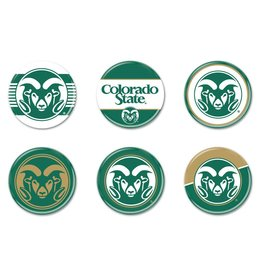 6 PACK COLO STATE BUTTONS