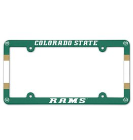 COLORADO STATE PLASTIC LICENSE PLATE FRAME