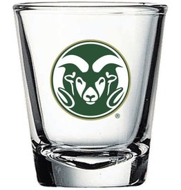 RFSJ INC RAM HEAD LOGO SHOT GLASS