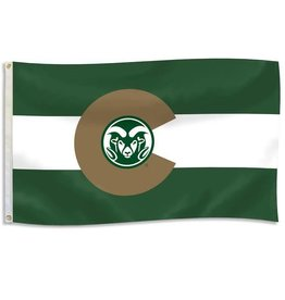 "RAM LOGO ""COLORADO"" FLAG- DURAWAVE"