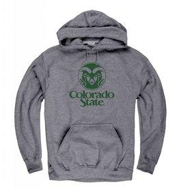NEW AGENDA GRAPHITE GREY Ram Logo Hoody