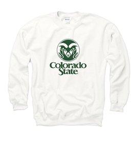 WHITE Ram Logo Sweatshirt