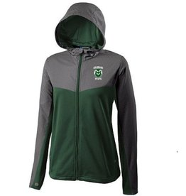 LADIES RAM CROSSOVER HOODED JACKET