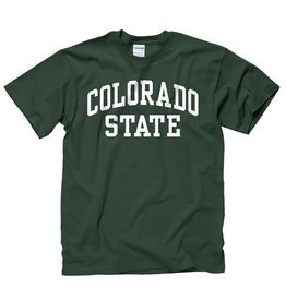 MOUNTAIN STATES YTH FOREST GREEN ARCH COLO ST TEE