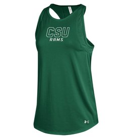 UNDER ARMOUR X UA LADIES CSU TECH TANK
