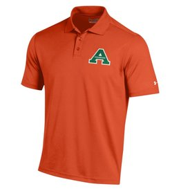 UNDER ARMOUR UA AGGIES A ORANGE POLO