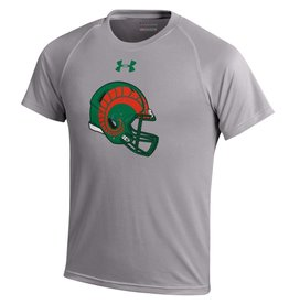 UNDER ARMOUR YTH UA FOOTBALL HELMET SS TEE