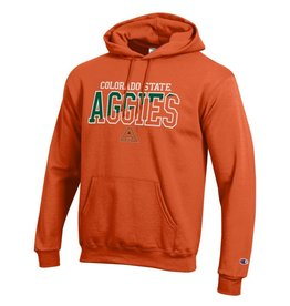 CHAMPION CUSTOM PRODUCTS AGGIES COLO STATE ORANGE HOOD