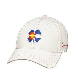X LUCKY CLOVER COLO FLAG HAT