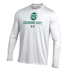 UNDER ARMOUR UA COLO ST RAM WHITE TECH LS TEE