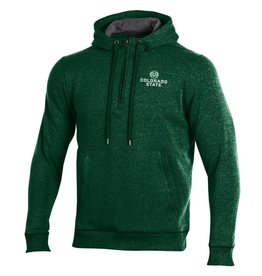 UNDER ARMOUR UA RAM LOGO THREADBORNE 1/4 ZIP HOOD